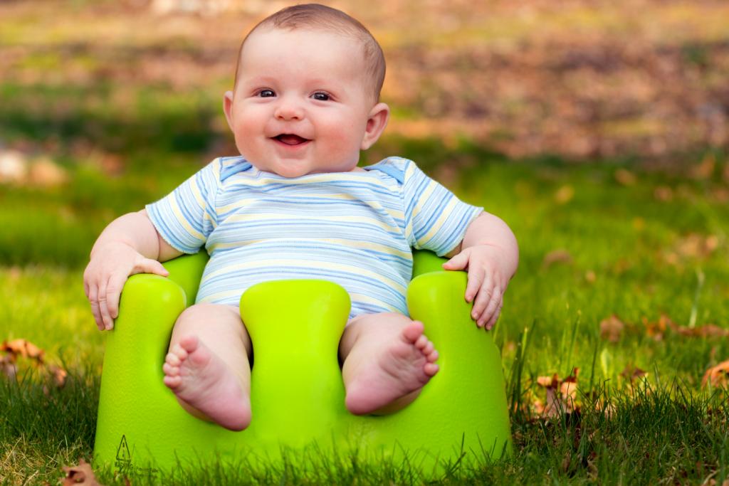 Bumbo Floor Seat zitten baby