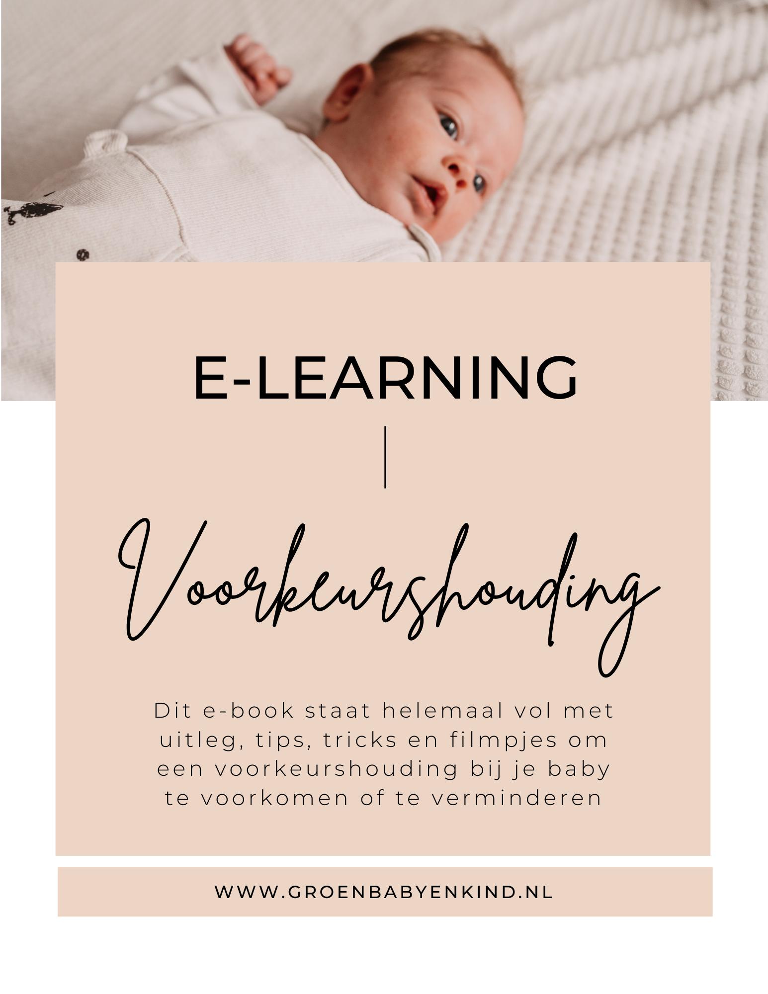 E-book voorkeurshouding bij baby's 5 weken